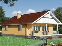 photo of wooden panel house Preslava